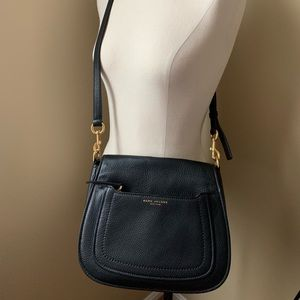 Marc Jacobs black leather crossbody